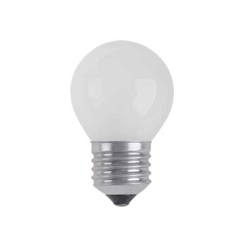 Priemyselná žiarovka BALL FROSTED E27/25W/230V