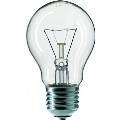Priemyselná žiarovka CLEAR E27/75W/240V