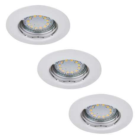 Rabalux 1046 - SADA 3x LED podhľadové svietidlo LITE 3xGU10-LED/3W/230V