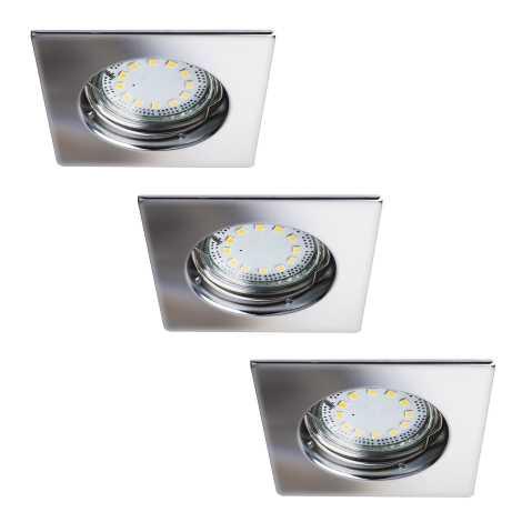 Rabalux 1053 - SADA 3x LED podhľadové svietidlo LITE 3xGU10-LED/3W/230V