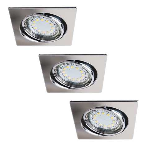 Rabalux 1056 - SADA 3x LED podhľadové svietidlo LITE 3xGU10-LED/3W/230V
