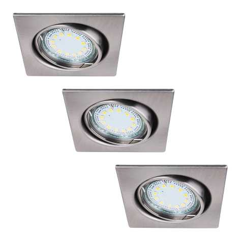 Rabalux 1057 - SADA 3x LED podhľadové svietidlo LITE 3xGU10-LED/3W/230V