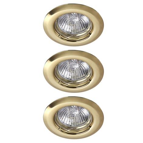 Rabalux 1102 - SADA 3x Podhľadové svietidlo SPOT LIGHT 3xGU10/50W/230V