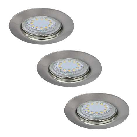 Rabalux 1163 - SADA 3x LED podhľadové svietidlo LITE 3xGU10-LED/3W/230V