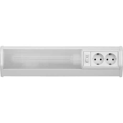 Rabalux 2321 - Podlinkové svietidlo BATH G23/11W/230V