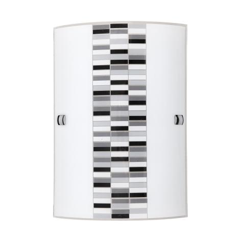Rabalux 3931 - Nástenné svietidlo DOMINO 1xE27/60W/230V