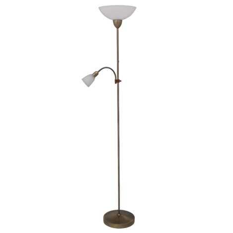 Rabalux 4019 - Stojaca lampa PEARL CLASSIC 1xE27/60W + 1xE14/40W
