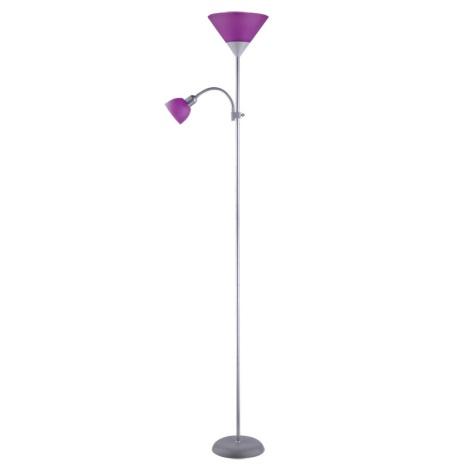 Rabalux 4020 - Stojaca lampa ACTION 1xE27/100W + E14/25W