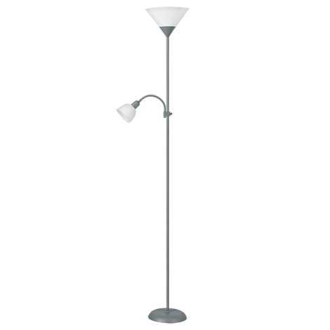Rabalux 4028 - Stojaca lampa ACTION 1xE27/100W + E14/25W