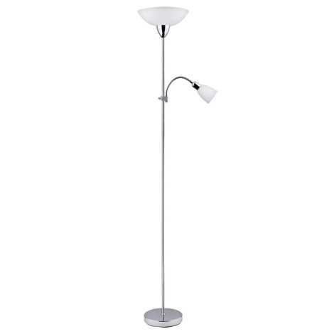 Rabalux 4059 - Stojaca lampa DIANA 1xE27/60W + E14/40W