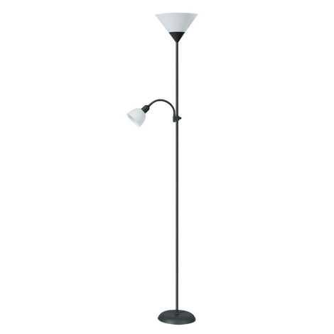 Rabalux 4062 - Stojaca lampa ACTION 1xE27/100W + E14/25W