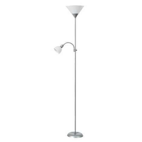 Rabalux 4064 - Stojaca lampa ACTION 1xE27/100W + E14/25W