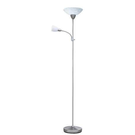 Rabalux 4092 - Stojaca lampa FLOWER 1xE27/100W + 1xE14/40W