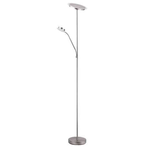 Rabalux 4162 - Stojaca lampa AARON 1xLED/18W + 1xLED/5W
