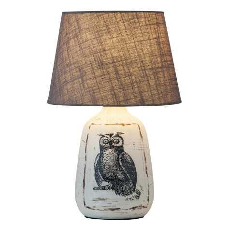Rabalux 4373 - Stolná lampa DORA 1xE27/40W/230V