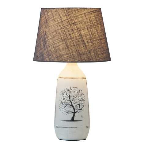 Rabalux 4374 - Stolná lampa DORA 1xE27/40W/230V