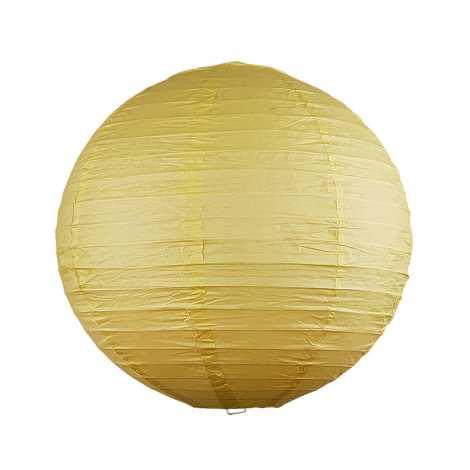 Rabalux 4893 - Tienidlo RICE žltá pr.30 cm