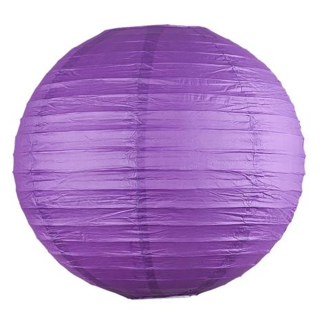 Rabalux 4908 - Tienidlo RICE fialová pr.40 cm