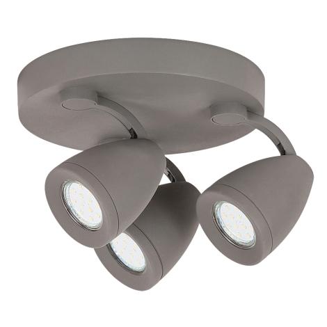 Rabalux 6743 - LED Bodové svietidlo NANCY 3xGU10/4,5W/230V