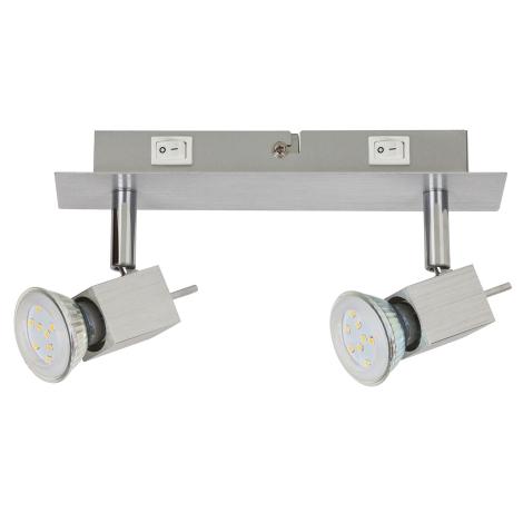 Rabalux 6758 - LED Bodové svietidlo 2xGU10/5W/230V