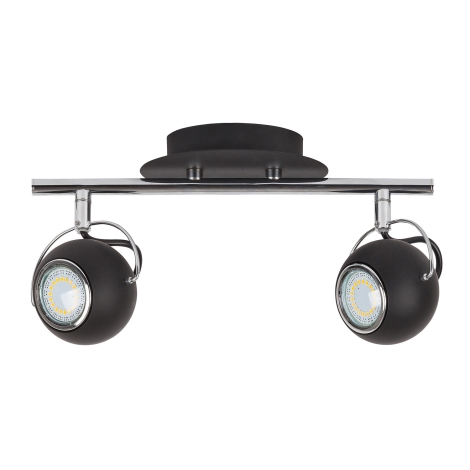 Rabalux 6826 - LED Bodové svietidlo BOBBY 2xGU10/4,5W/230V