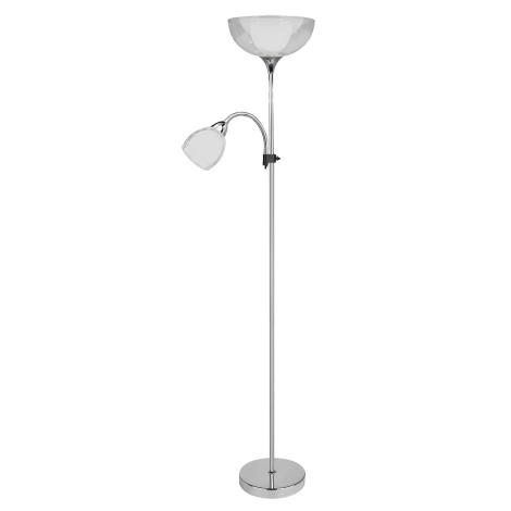 Rabalux 6878 - Stojanová lampa DAVE 1xE27G45/60W + E14/40W/230V