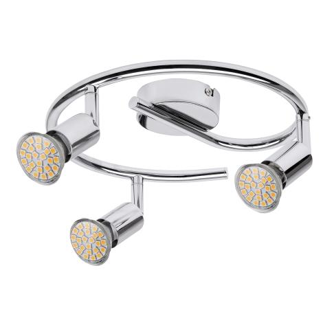 Rabalux 6989 - LED Bodové svietidlo NORTON LED 3xGU10/3W/230V