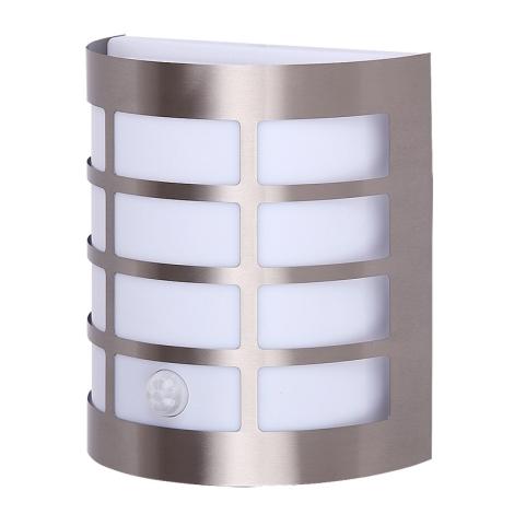 Rabalux 8200 - Vonkajšie nástenné svietidlo s čidlom SEVILLA 1xE27/11W/230V