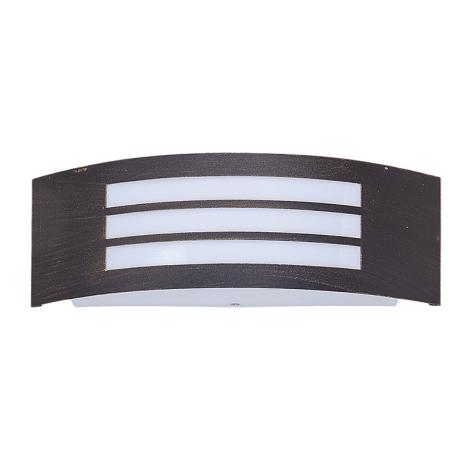 Rabalux 8511 - Vonkajšie nástenné svietidlo ROMA 1xE27/14W/230V