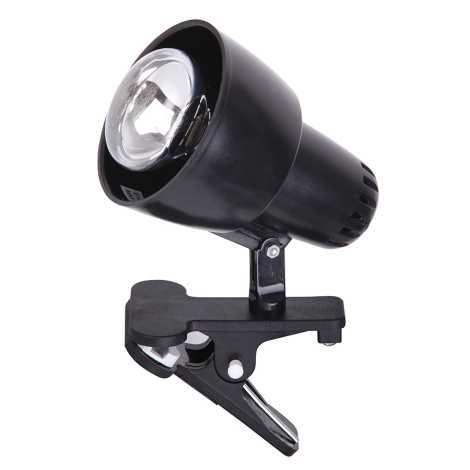 Rabalux - Lampa s klipom 1xE14/40W/230V čierna