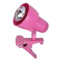 Rabalux - Lampa s klipom 1xE14/40W/230V ružová