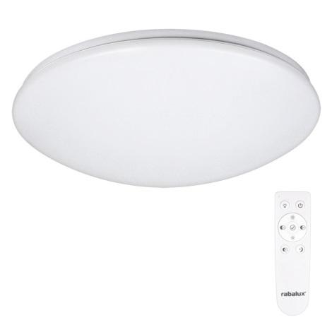 Rabalux - LED Stmievateľné stropné svietidlo s diaľkovým ovládačom 1xLED/40W/230V