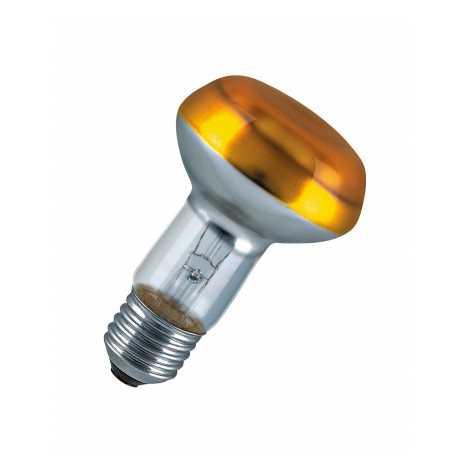 Reflektorová žiarovka E27/40W CONC R63 YELLOW