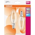 SADA 2x LED Žiarovka E14/4W/230V 4000K - Osram