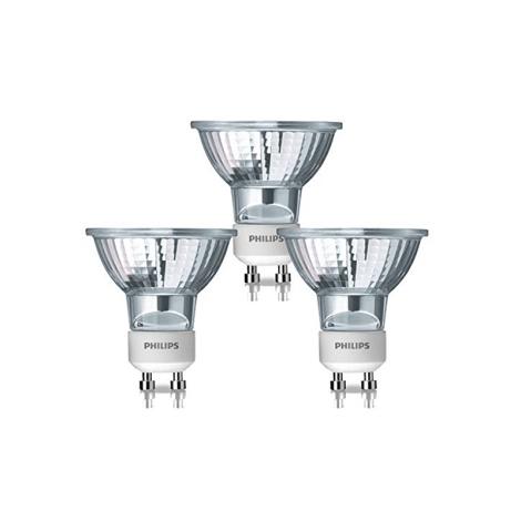 SADA 3x Halogénová žiarovka GU10/50W/230V Philips HALOGEN TWISTLINE