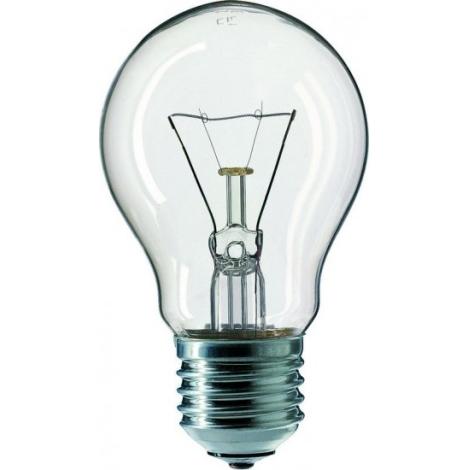 Štandardné žiarovka E27/150W číra