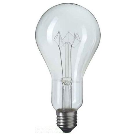 Štandardné žiarovka E40/500W číra