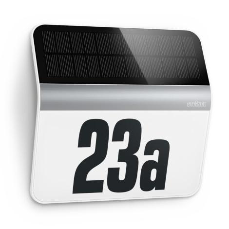 STEINEL 007140 - LED Solárne domové číslo XSolar LH-N LED/0,03W