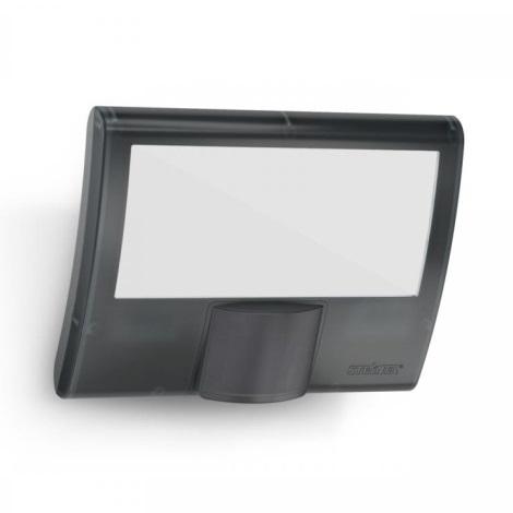 Steinel 012076 - Vonkajšie nástenné svietidlo s čidlom XLED curved LED/10,5W/230V