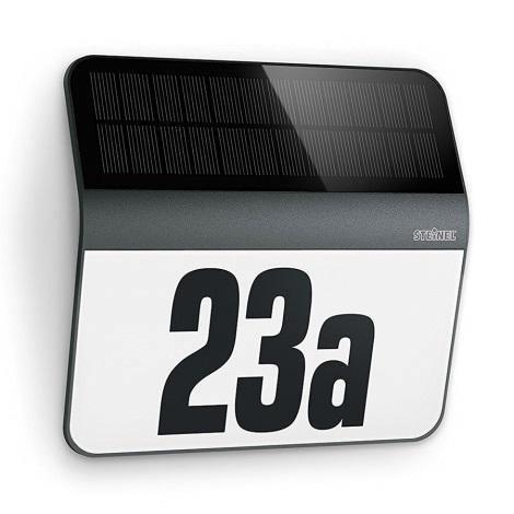 STEINEL 0357530 - LED Solárne domové číslo LED/0,03W