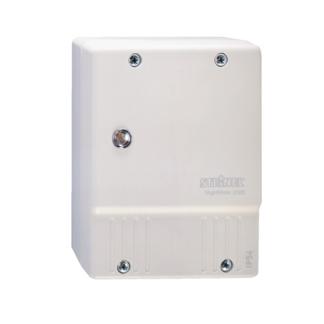 STEINEL 550417 - Súmrakový spínač NightMatic 2000 biela