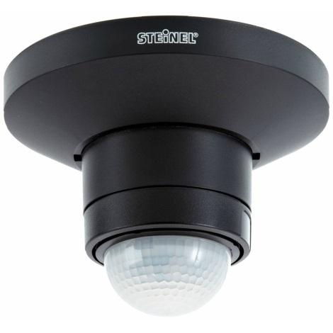 STEINEL 602512 - Hlásič pohybu IS 360 D TRIO čierny