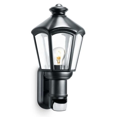 Steinel 634612 - Nástenná lampa so senzorem L 562 S 1xE27/60W/230V