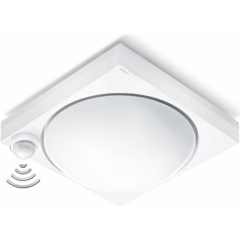 Steinel 650315 - Vonkajšie stropné svietidlo so senzorom DL 750 S 1xE27/100W/230V