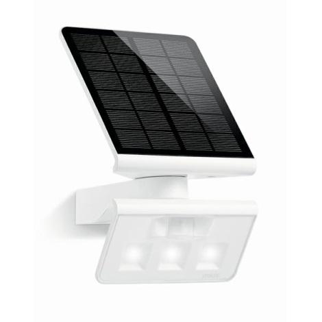 STEINEL 671006 - Solárný senzorový LED-reflektor XSolar LS 0,5 W / LED biela