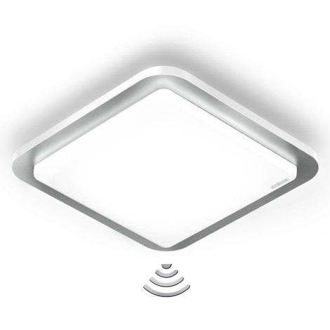STEINEL st007928 - LED stropné svietidlo s čidlom RS LED D2/11W nerez