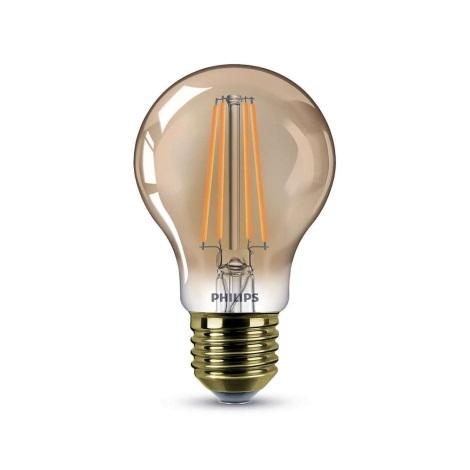 Stmievateľná LED žiarovka Philips E27/7,5W/230V 2000K - VINTAGE