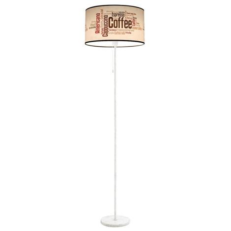 Stojaca lampa COFFEE 1xE27/60W/230V