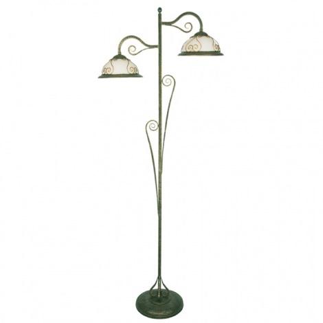 Stojací lampa VERDA VE/LS 2xE27/60W patina