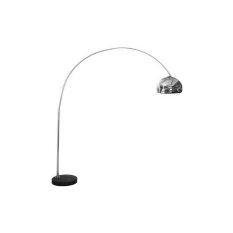 Stojacia lampa COSMO CHROM S - 1xE27/60W/230V